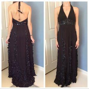NWT Sue Wong Nocturne Black Sz4 Evening/Prom Dress